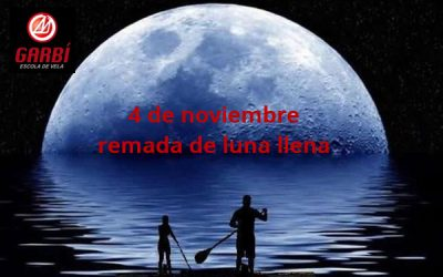 4 de noviembre – Remada de luna llena en Paddlesurf