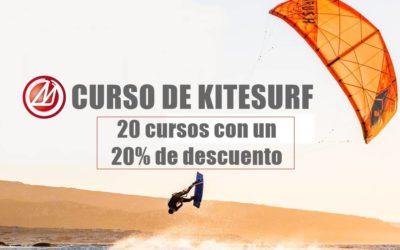Promo Curso de Kitesurf de Semana Santa 20×20