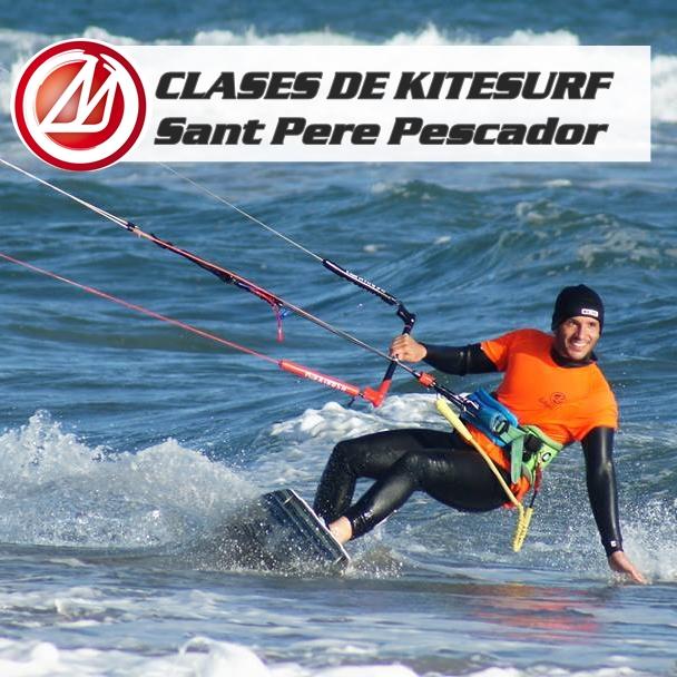 Clases de Kitesurf Sant Pere Pescador 12 y 13 de octubre