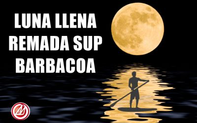 Remada puesta de sol + luna llena + barbacoa