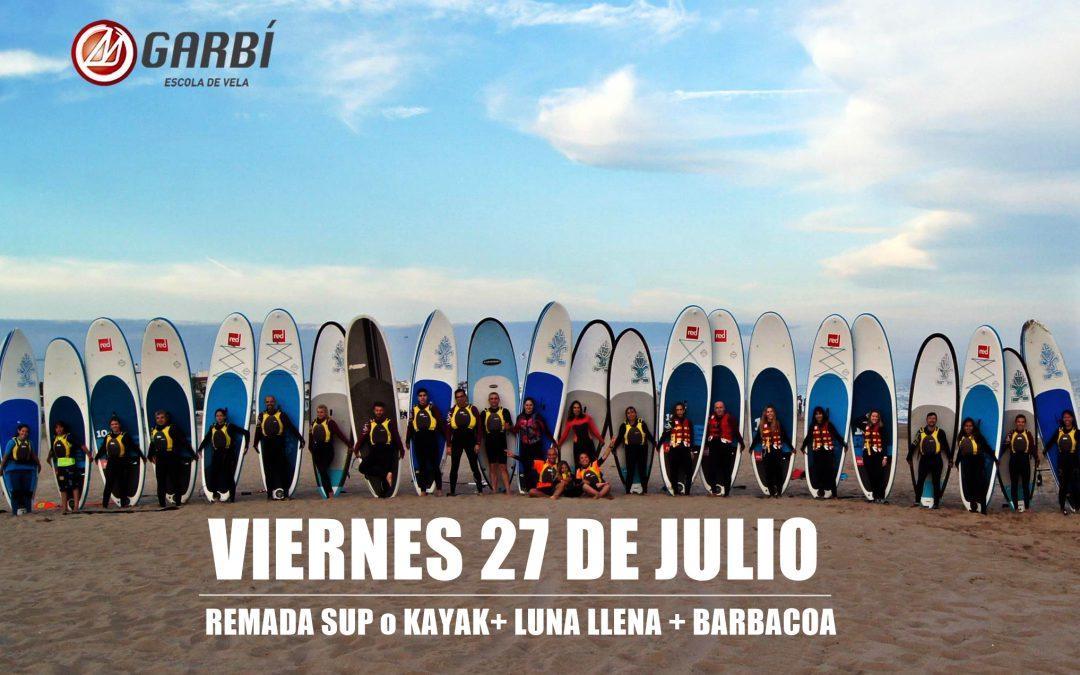 PaddleSurf – Luna Llena – Barbacoa 27 julio