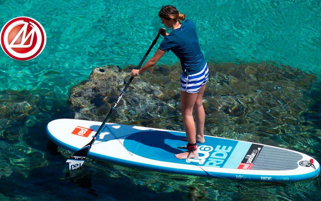 Los beneficios del Paddlesurf