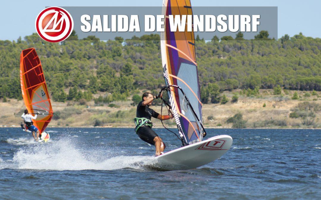 SALIDA DE WINDSURF A LEUCATE 2019
