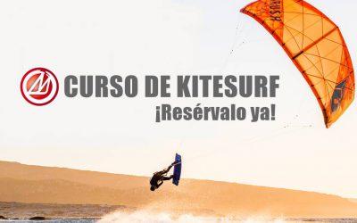 ¡Empieza ya tu curso de Kitesurf!