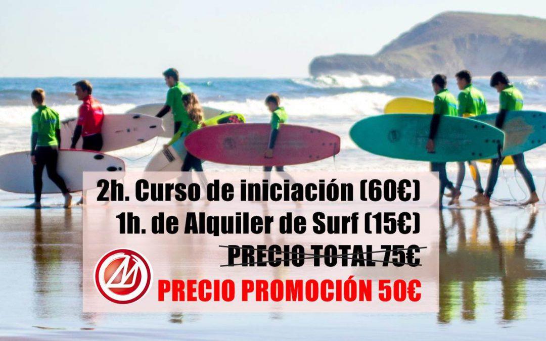 Curso de Surf en Castelldefels