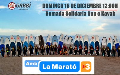 Marató de TV3 remada solidaria Paddle Surf o Kayak