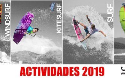Calendario de actividades 2019