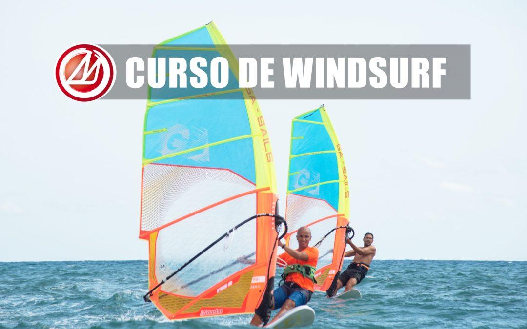 Curso de windsurf en Barcelona