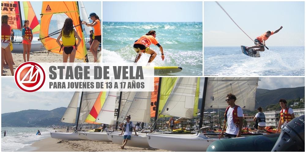 Stage de Vela para jóvenes de 13 a 17 años