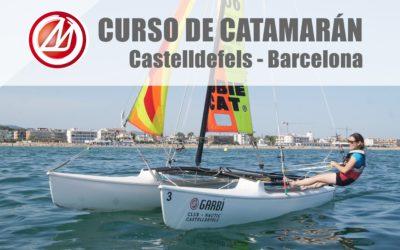 Curso de vela en catamarán en Barcelona