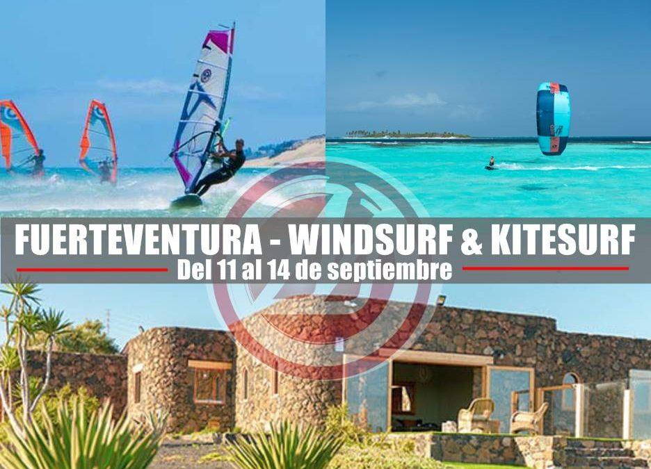 Viaje a Fuerteventura de Kitesurf & Windsurf el 11 de septiembre