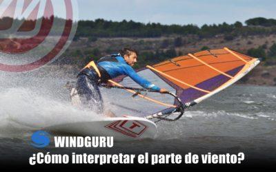 Windguru ¿Cómo interpretar el parte de viento?