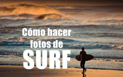 ¿Cómo hacer fotos de SURF?