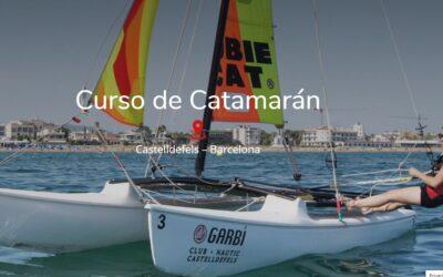 Curso de Catamarán en Castelldefels – Barcelona