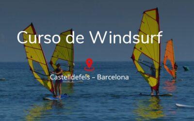 Curso de Windsurf en Castelldefels – Barcelona